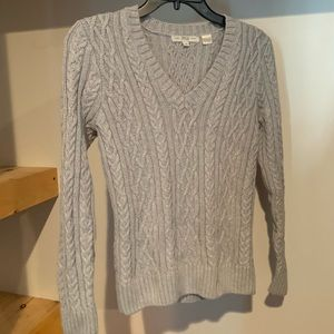 Sweaters - Thick Woven Gray Sweater